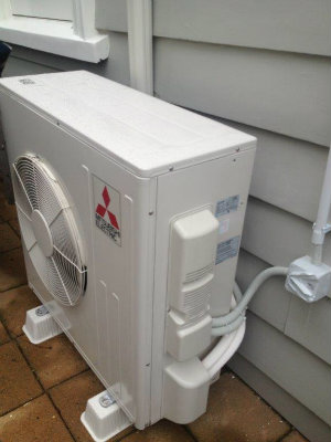 domestic heatpump installation